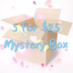 5 for $25 mystery box